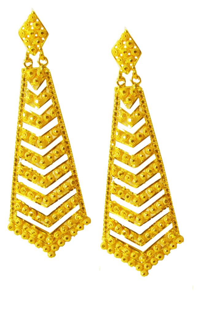 22 Karat Gold Earrings